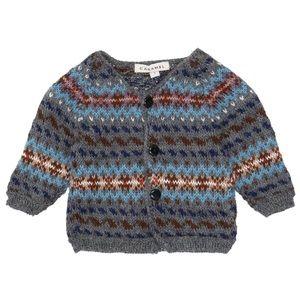 CARAMEL • Alpaca Wool Cardigan Sweater